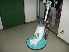 カーペット清掃、床清掃、ワックス塗布作業
